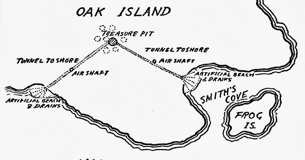 Treasure Chest Of Oak Island