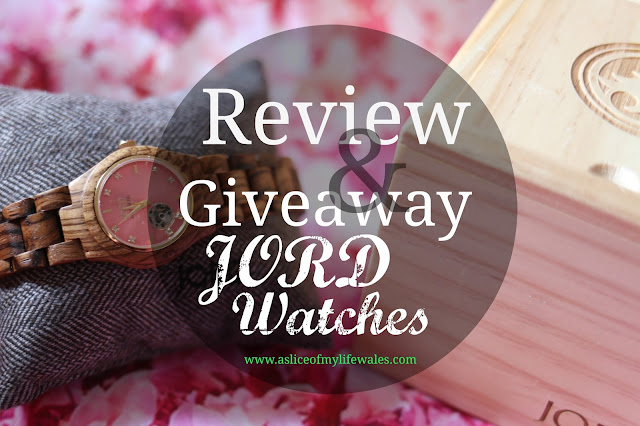 review and giveaway with JORD umique luxury wooden watches for women and men