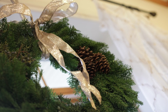 woodland holiday decor