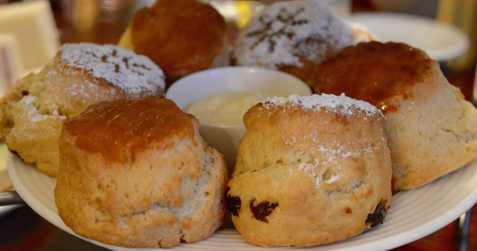 Afternoon tea at Wynyard Hall (with kids) - A Review - scones