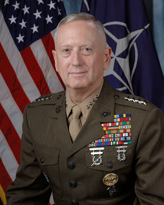 El General Mattis (Marines) será el Secretario de Defensa de Donald Trump
