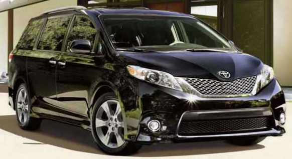 2017 toyota sienna release date usa