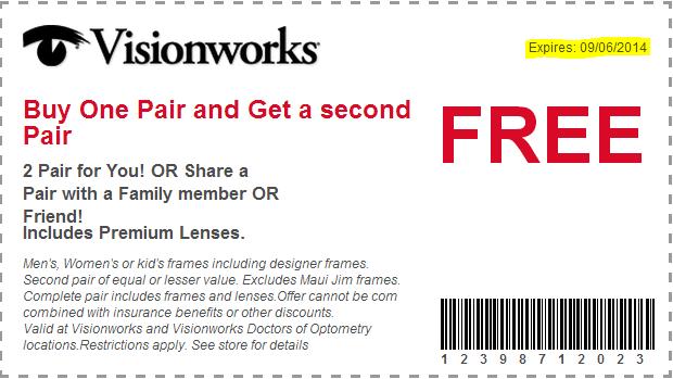 f849b7f08d1 Visionworks Buy one Get one FREE!