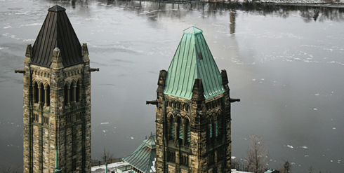 Peace Tower Parliament View Ottawa