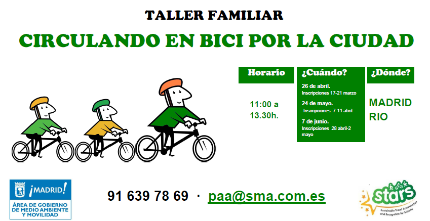 Taller familiar de bici urbana