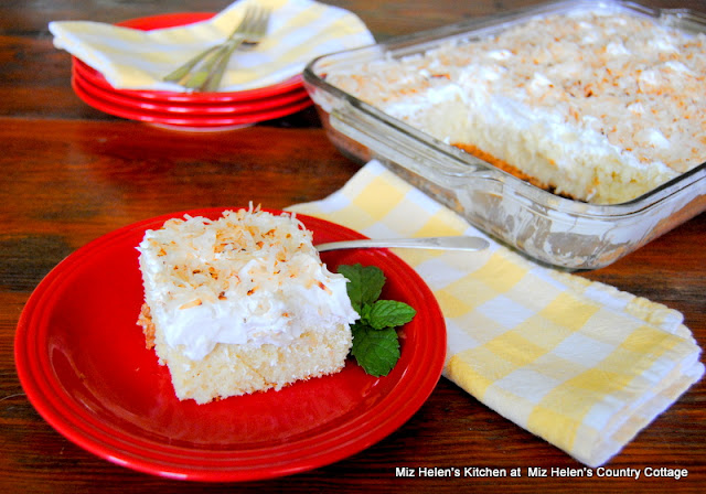 Coconut Cake at Miz Helen's Country Cottage