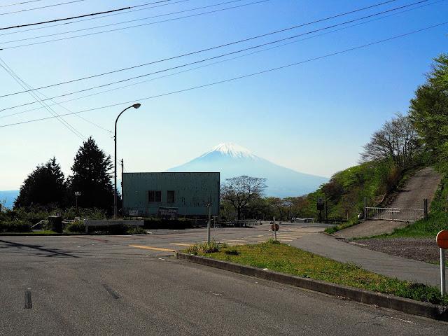 長尾峠 長尾隧道 富士山