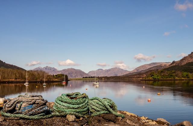 Photo of a wider view of Loch Leven looking towards Ballachulish