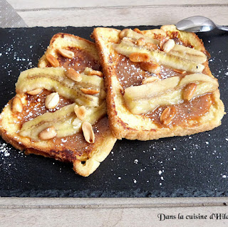 https://danslacuisinedhilary.blogspot.com/2015/11/pain-perdu-banane-caramel-cacahuetes.html