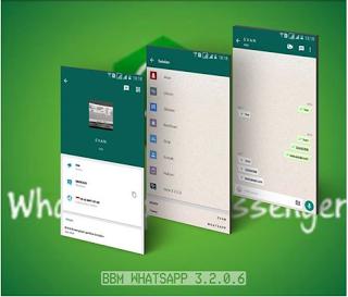 BBM MOD Whatsapp APK v3.2.0.6 New Style [BBM MOD Full Fitur Base 3.2.0.6]