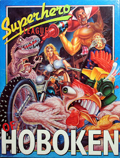 Videojuego Superhero League of Hoboken