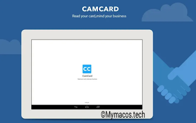 Camcard business card scanner app