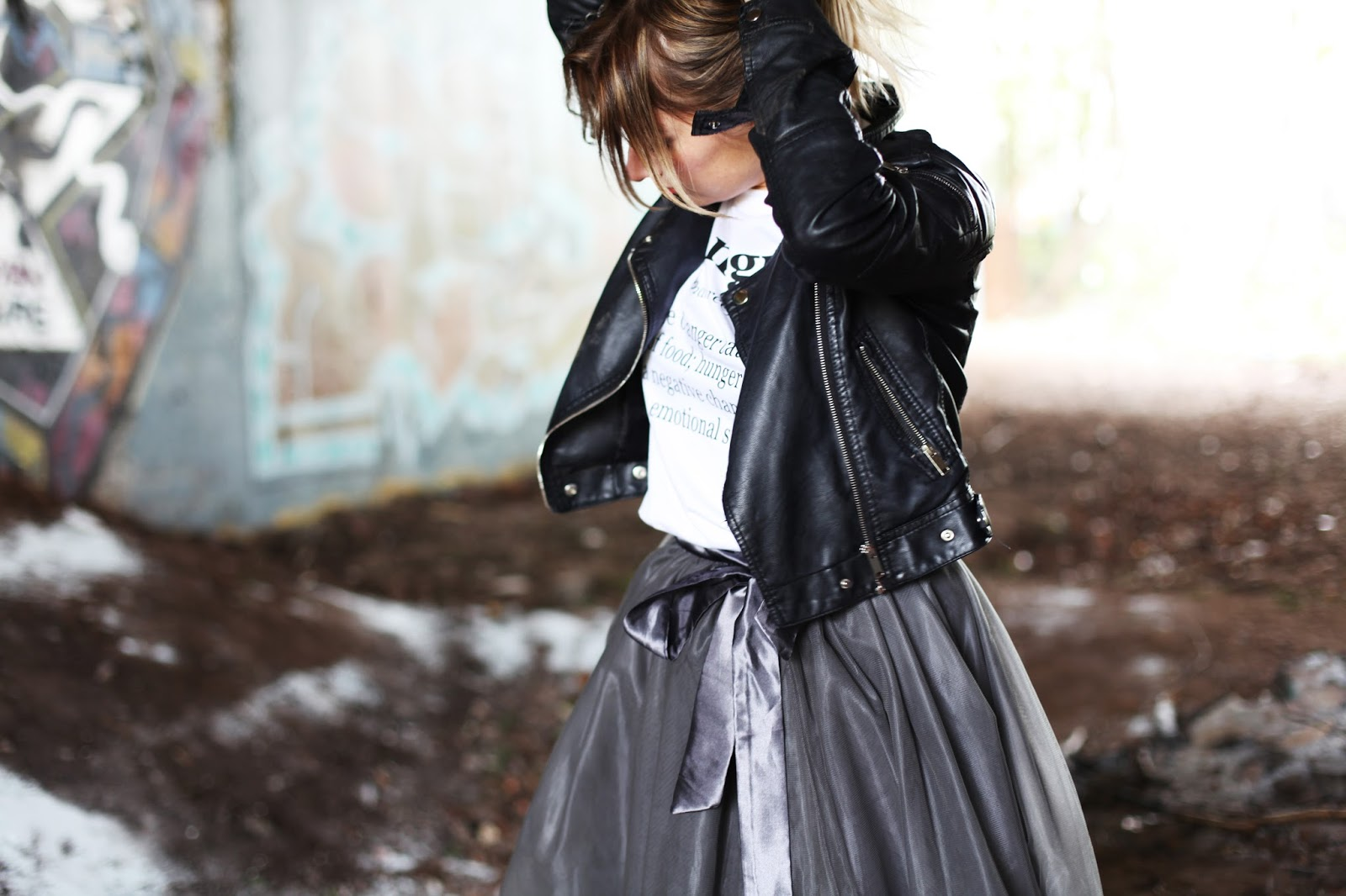 1217154e5a80be ... all means a tutu doesn't mean it has to be for a special occasion, I  loved wearing it with my trainers, Cordelia Hangry tshirt and leather  jacket for a ...