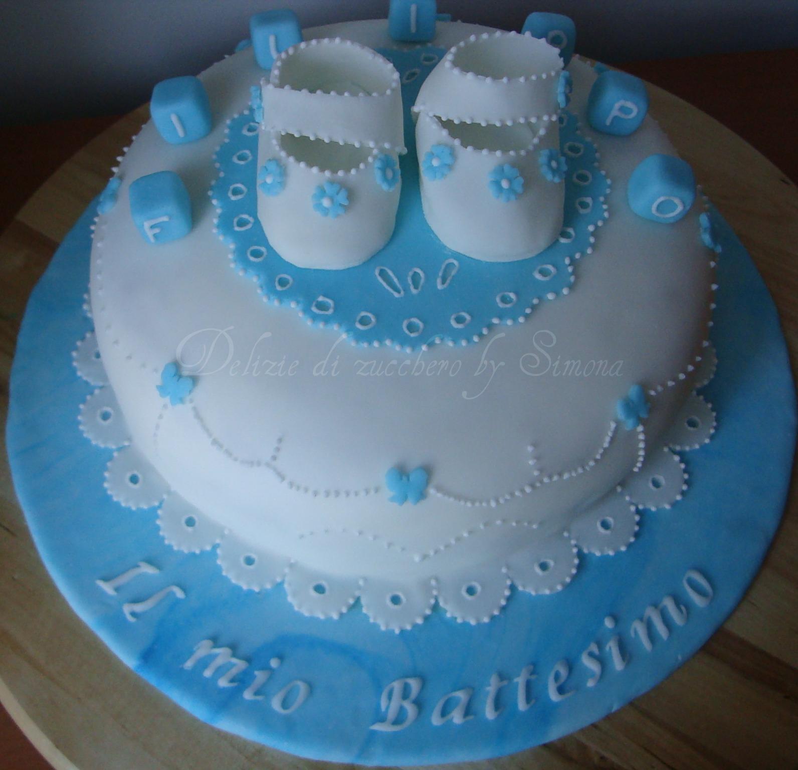 Molto DELIZIE DI ZUCCHERO BY SIMONA: Torte per Battesimi WO92