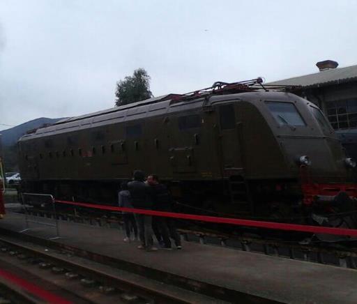 treno storico la Spezia