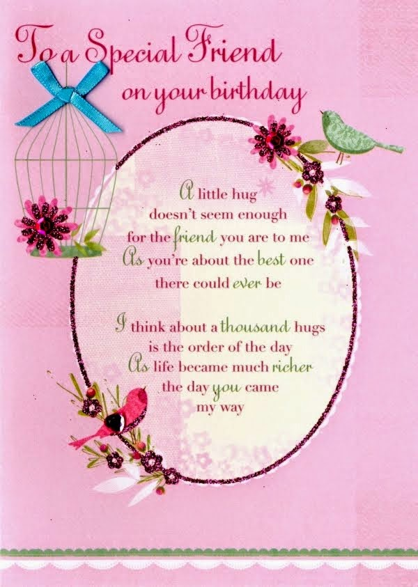 happy birthday letter to a special friend happy birthday to a special friend kootation 18431