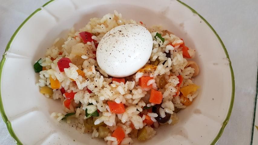 Riso freddo - insalata di riso