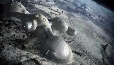 Tahun 2050, Ribuan Orang Bisa Tinggal di Bulan