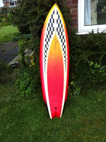 Vintage Surfboard Collector Uk Recent Ebay Twin Fins