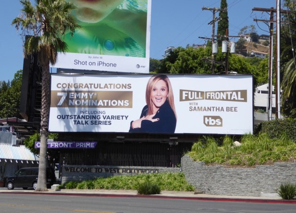 Full Frontal Samantha Bee 2017 Emmy noms billboard
