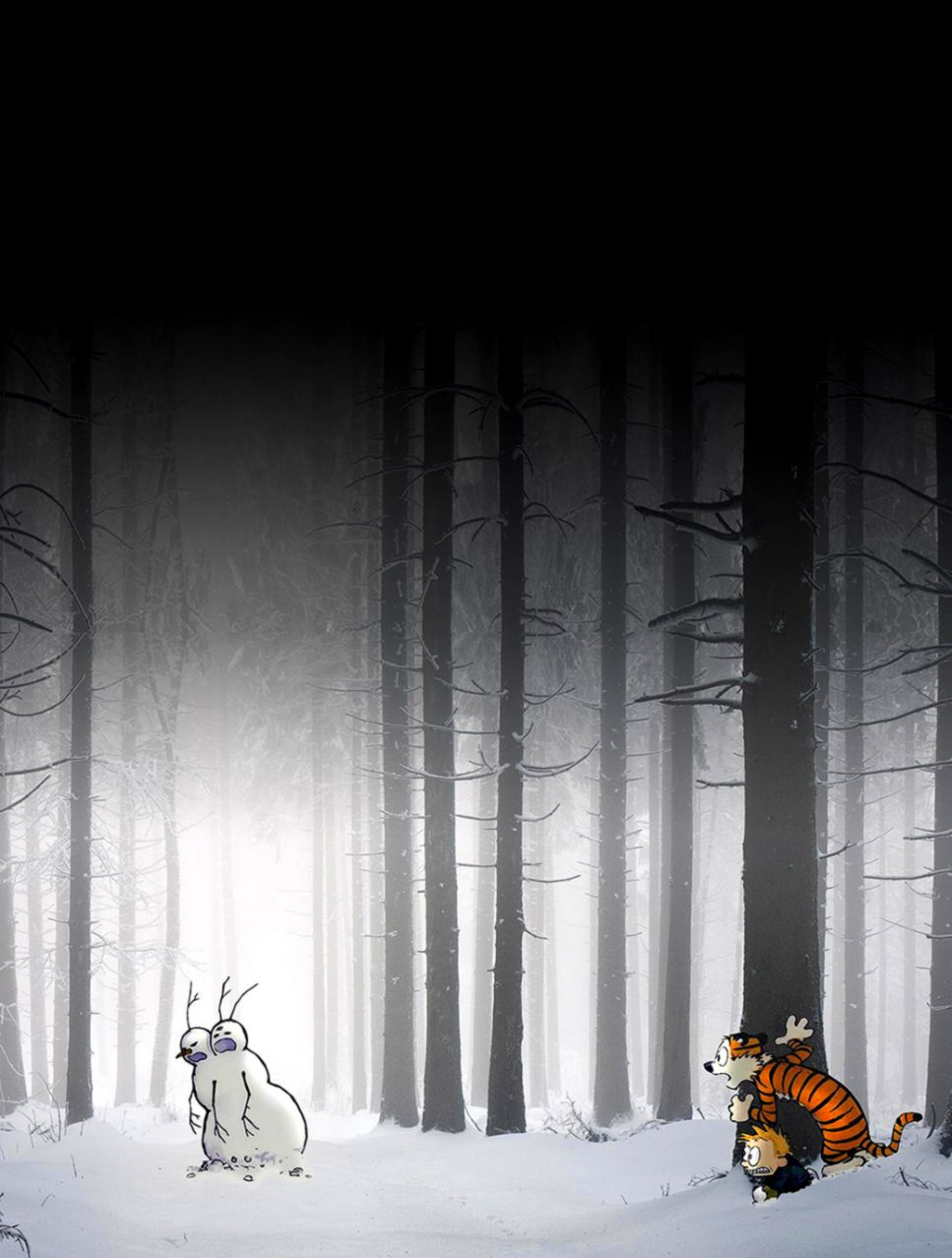 Calvin And Hobbes Iphone Wallpaper Hd Wallpapers Collection
