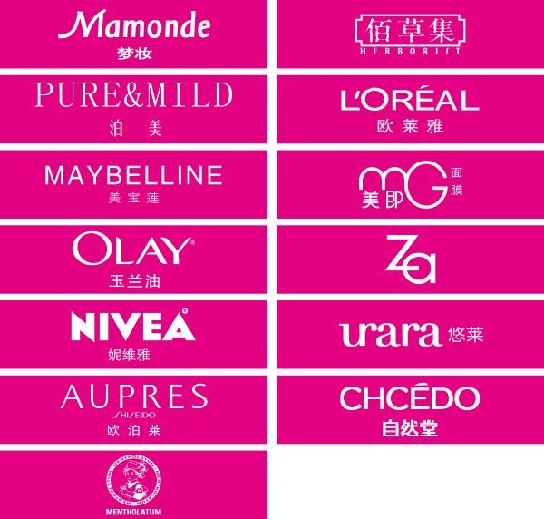Top 10 Cosmetics And Beauty Logos In 2018  Leading Makeup Brand Logo