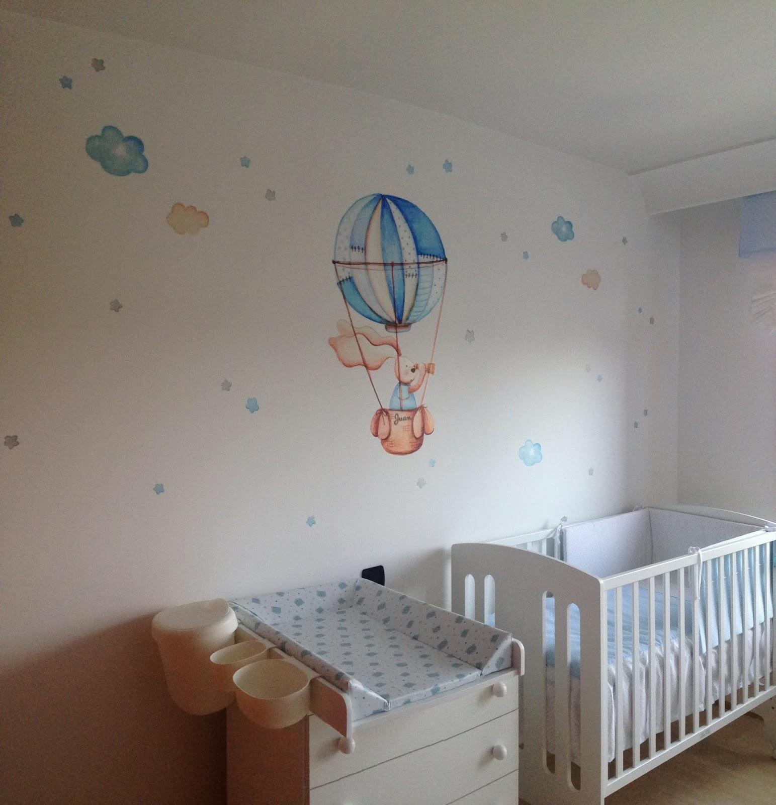 Decopared asi de bonitos son nuestros vinilos - Murales pintados a mano ...