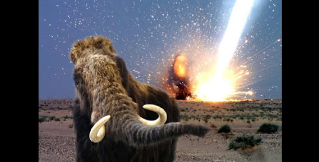 The discovery of an abundance of platinum at Clovis sites across the U.S. adds to the research that suggests a cosmic event may have wiped out the Clovis people and large beasts that lived around 12,800 years ago. Photo courtesy of NASA.