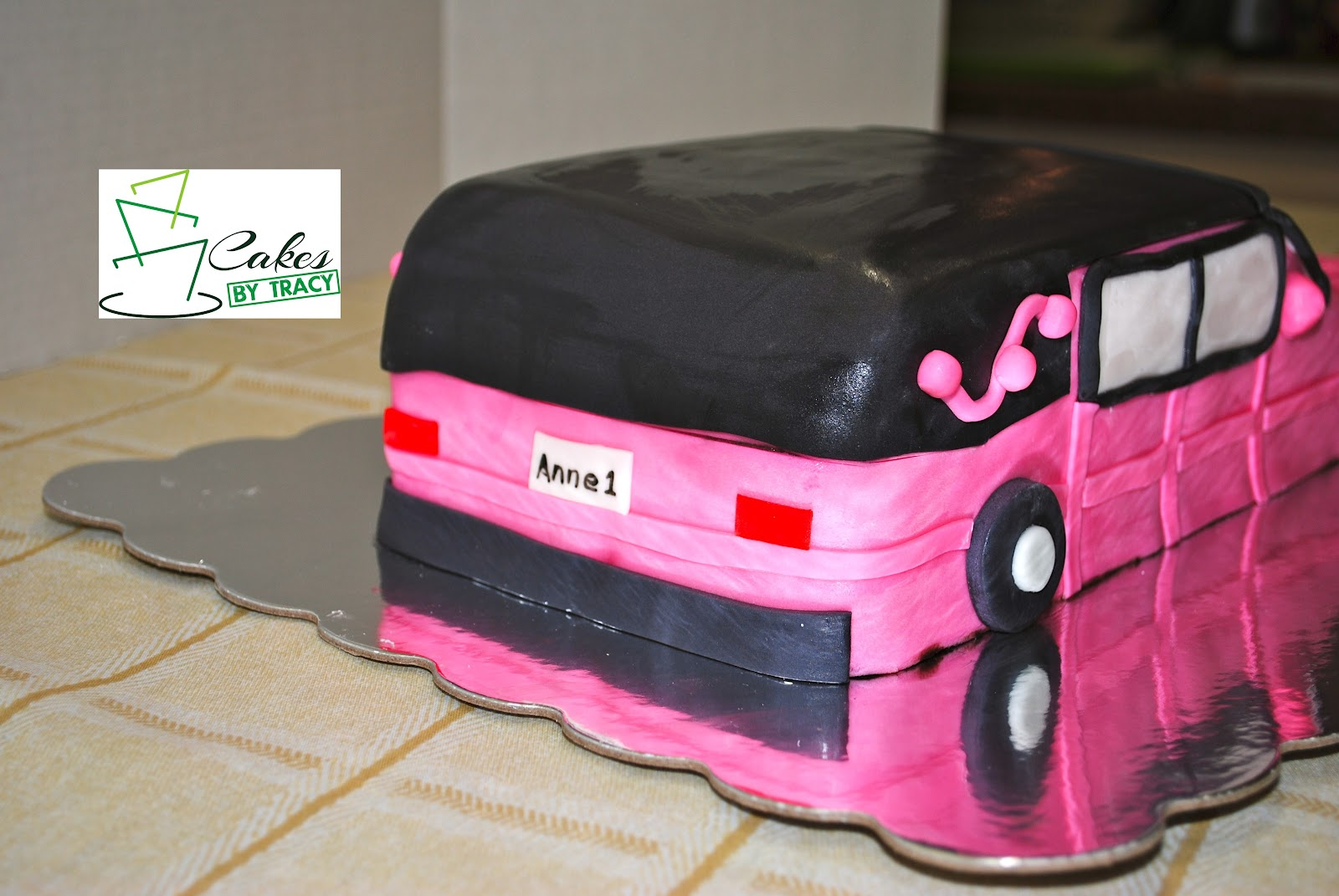 Cakes By Tracy Salem Ar Pink Hearse Cake