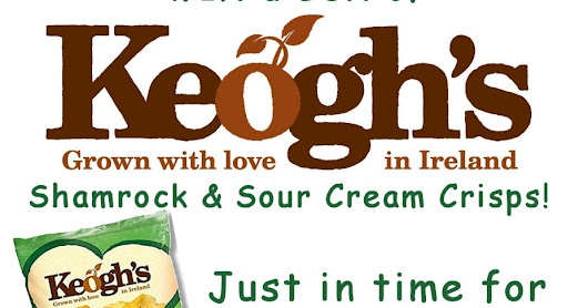 WIN a Box of Keogh's Shamrock Crisps just in time for St Patrick's Day