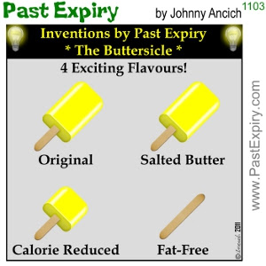 [CARTOON] Who else wants salted butter?. cartoon, diet, inventions, health, food,