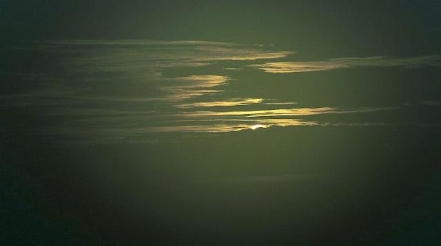 Wschód słońca na Wielkiej Raczy.