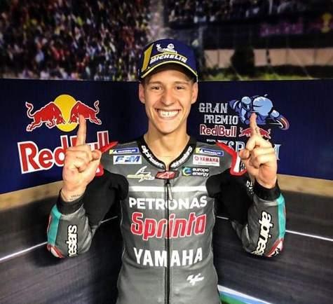 Fabio Quartararo Pole Position Jerez Spanyol 2019