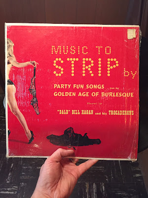 #found #vinyl #vintage #old #music #bawdy #goodolddays #humor #funny #album # #record # stripper #nostalgia #albumcover #estatesale #estatesalefinds #urbanarcheology #listen #recordcollection #photography #treasurehunting #justinantiques #takeitalloff