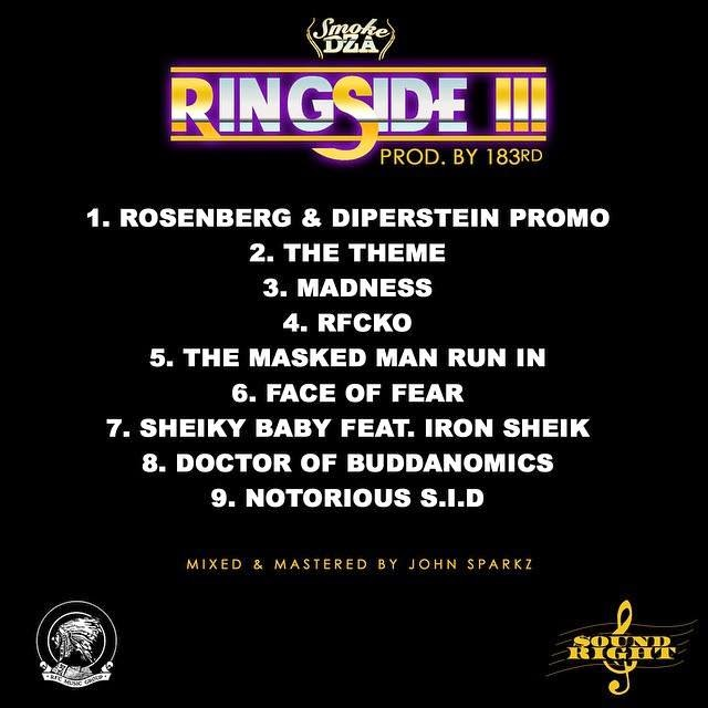 Hakesy The Fat Cat: Smoke DZA & 183rd - Ringside 3 EP | Free Download