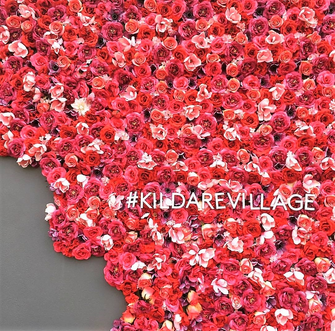 Kildare Village Floral Wall