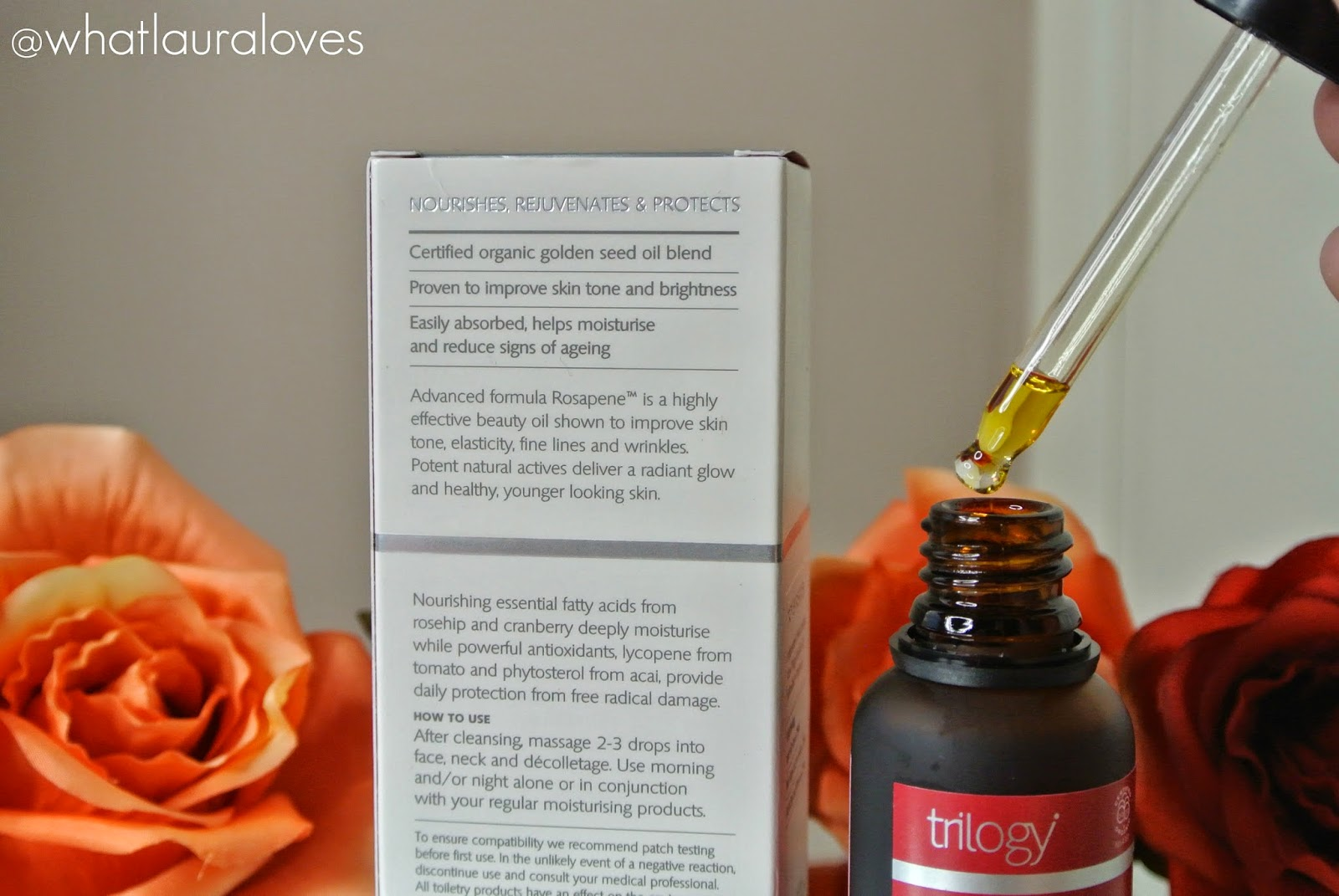 Trilogy Rosehip Oil Antioxidant Review What Laura Loves