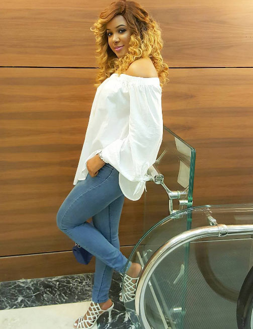Busayo Ladapo steps out in chic attire