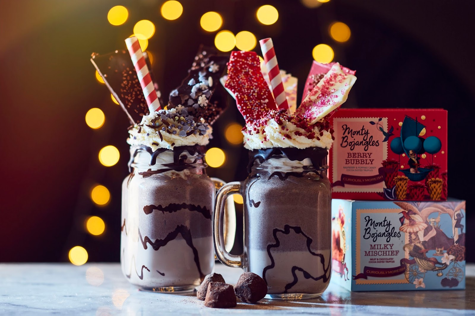 Monty Bojangles Freakshakes: Fancy Trying?