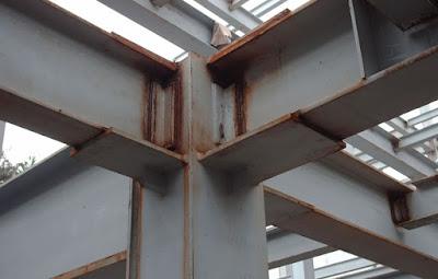 Conexiones soldadas en estructuras metálicas
