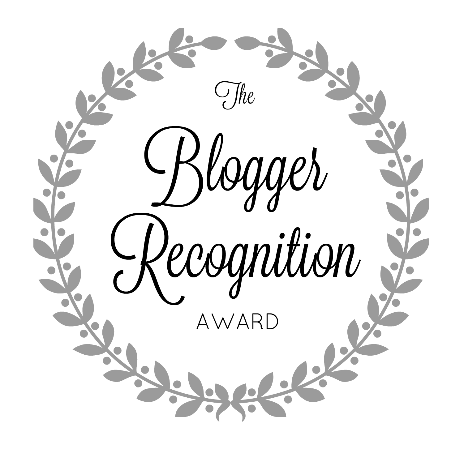 Blogger Recognition Award 2018