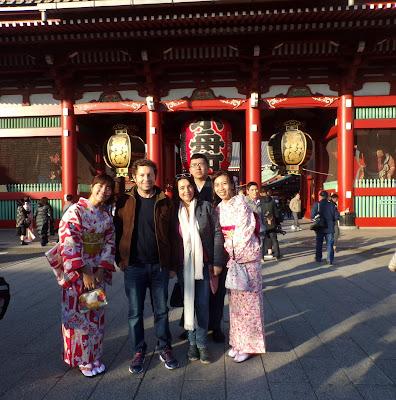 Puerta Hozomon sensoji