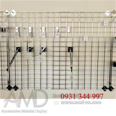 Móc treo tấm lưới trưng bày hàng hóa siêu thị, trưng bày phụ kiện điện thoại - 224135