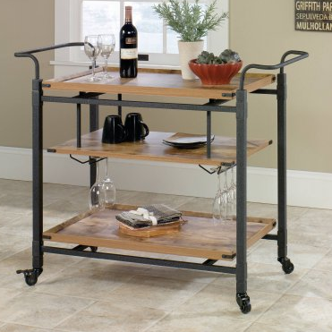 Rustic Bar Cart, Cheap