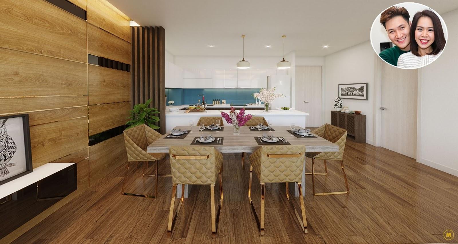 Vợ chồng Mạnh Trường sở hữu căn hộ cao cấp tại Amber Riverside Minh Khai