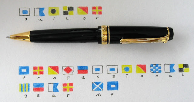sailor professional gear mechanical pencil