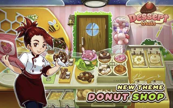 Dessert Chain Cafe Waitress Mod Apk for Android