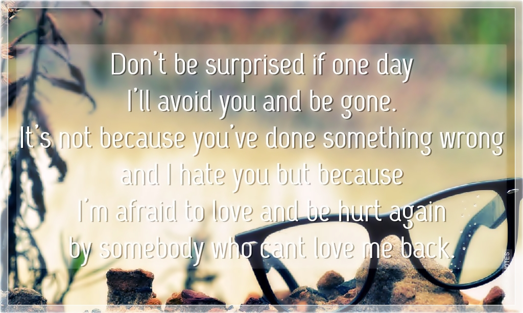 One Day Ill Be Gone Poem