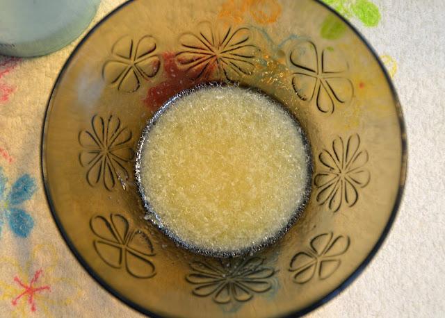 Peeling cukrowy i olejek arganowy