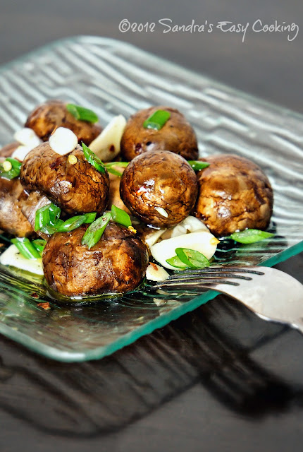 recipe and healthy benefits of Marinated Mushrooms